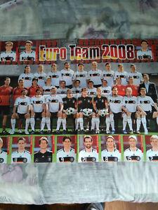 GERMANY 2008 EURO TEAM DFB Fußball SOCCER POSTER