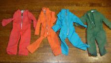 vintage CLOTHING LOT FOR 1/6 SCALE HASBRO G I JOE MILITARY FIGURES
