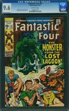 Fantastic Four #97 CGC 9.6 -- 1970 -- Kirby Giacoia. Monster Lagoon #0078621013