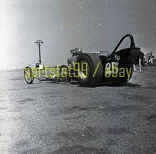 Hank Clark A/D '25' Front Engine Dragster - Vintage Drag Racing Negative