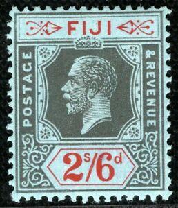 FIJI KGV Stamp SG.240 2s/6d Die II High Value (1925) Superb Mint VLMM CBLUE106