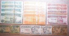 ETIOPIA: 1413 BIRR IN BANCONOTE. 10 x 100 birr, 5 x 50, 15 x 10, 13 x 1. birr ETIOPICO