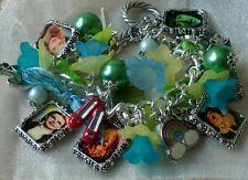 """""""Wizard of Oz""""~ loaded photo charm bracelet"""