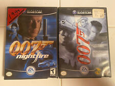 007 Gamecube lot Everything or Nothing & Nightfire complete w/case,manual,disc