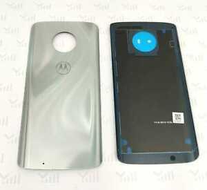 Original Motorola G6 Backcover Rückseite Akkudeckel Silver / Silber