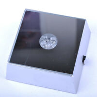 New 4 LED Color Square Display Stand Base For Crystal Ball Paperweight Cocktail