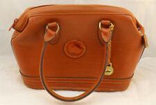 DOONEY & BOURKE Vintage Brown Leather Satchel Handbag - Good Condition