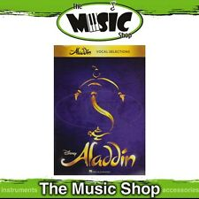 New Aladdin Broadway Musical Selections Music Book for Piano & Vocal