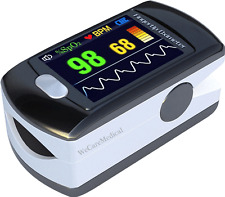 Fingertip Pulse Oximeter Contec CMS-50E FDA Certified Spo2 Monitor OLED Software