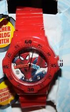 MARVEL Ultimate Spider Man Web-Warriors Wrist Watch, Red (Dented Packaging)