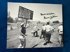 Gene Littler signed 8x10 photo! 1961 US Open Champion!