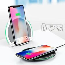 Baseus plegable qi Wireless Charger induktives cargador slim ultra planas redondo