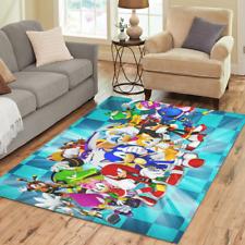 Hot Selling Custom Sonic The Hedgehog Rugs Area Rug Decorative Floor Rug Carpet