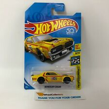 '68 Mercury Cougar * Yellow Kmart Only * 2018 Hot Wheels * ZA28