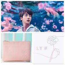 KPOP BTS Love Yourself Bangtan Boys Coin Wallet Makeup Cosmetic Handbag Pink