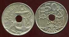 SPAIN  ESPAGNE  50 centimos 1949   ( 56 )  ( etat )