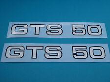 Zündapp Aufkleber Sticker Abziehbild GTS 50  Schw.-Weiss Typ 529