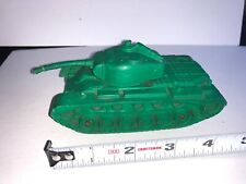 Auburn Rubber Co US Army Tank 6 inches Lime Green