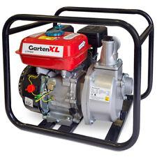 """Benzin Wasserpumpe 2"""" Zoll 6,7PS Motor Schmutzwasserpumpe Teichpumpe Gartenpumpe"""