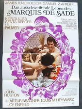 MARQUIS DE SADE - Filmplakat A1 - Senta Berger, Lilli Palmer, Sonja Ziemann