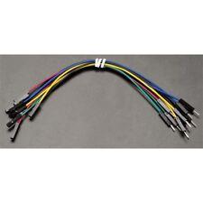 JW-D1-MF Cable de puente de cables Dupont rápida M-F 26AWG 1 Pin 2.54 mm pitch - 15 cm Pk10