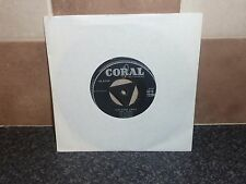 THE CRICKETS (WITH BUDDY HOLLY) 45 'OH BOY/NOT FADE AWAY' CORAL Q72298 GOOD PLUS