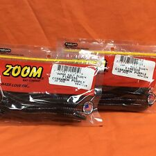 ZOOM Finesse Worm 2 PCKS #004-007 MOCASSIN BLUE 20cnt//40ttl