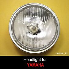 Yamaha DT80 DT100 DT125 DT175 DT250 DT400 Enduro Headlight Lamp + Rim Trim Ring