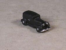 Z Scale Black 1938 Ford Sedan Car