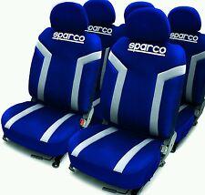 Sitzbezüge Set  Sparco Linea S blau