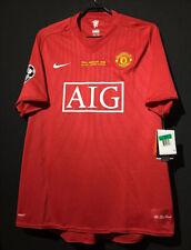 2008 Manchester United Nike UCL Final Shirt 7 Ronaldo All Sizes