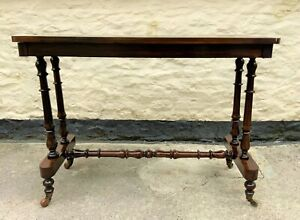 Fine 19thc Regency Period Rosewood Veneered Occasional Writing Side Centre Table