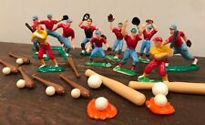 Vintage Baseball Cake Decorations 21 Pieces