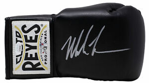 Mike Tyson Signed Right Hand Black Cleto Reyes Boxing Glove JSA ITP