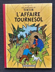 TINTIN EO - L'AFFAIRE TOURNESOL /  EO Belge B20 1956 / BE+