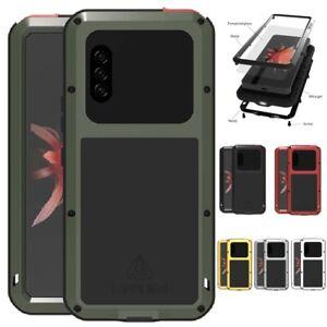 LOVEMEI Waterproof Gorilla Glass Metal Case Cover For Sony Xperia-10-II