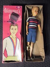"""1963 IDEAL Tammy's Family TED 13"""" Doll VF 8.0 in Original Box GD 2.0"""