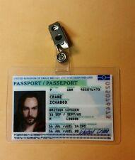 Sleepy Hollow Id Badge - Ichabod Crane passport costume prop cosplay