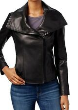 Women's Michael Kors Leather Jacket Black