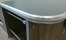 Devon Edge Aluminum Trim Grey PVC Insert Furniture Edge trim American Diner