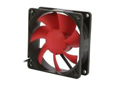 SilenX Effizio 80mm x 25mm Fan Quiet Silent 15 dBa Red/Black EFX-08-15 NEW
