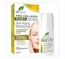 Dr. Organic Collagen + Hyaluronic Acid Anti-Aging Moisturiser + Milk Probiotic