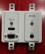 Zigen ZIG-POEWP-100TX HDMI/VGA Auto-Switching Wallplate HDBaseT TX