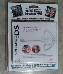 Nintendo DS DSI Headset Brand New & Sealed for Pokemon Diamond Pearl OEM XL Lite