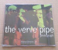 The Verve Pipe - Photograph UK  Promo Cd Single Rare 1996 Rock