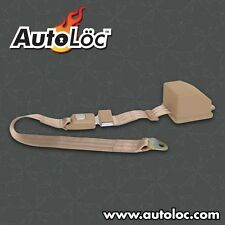 Autoloc 2 Point Retractable Tan Lap Seat Belt (1 Belt) SB2PRTN