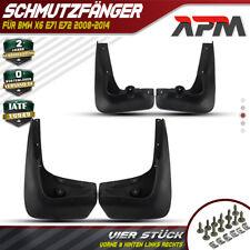 4x Spritzschutz Schmutzfänger Schmutzabweiser Vorne Hinten für BMW X6 E71 E72