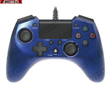 Hori FPS Plus - Blue - Controller / Control Pad For Playstation 3 & 4