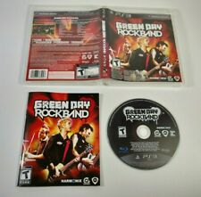 Green Day Rock Band PS3 2010 Complete