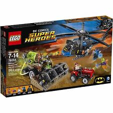 (NEW SEALED) DC COMICS BATMAN SCARECROW HARVEST OF FEAR LEGO 76054 LEARNING TOY